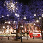 Enjoy the beauty of Christmas near Kensington High Street