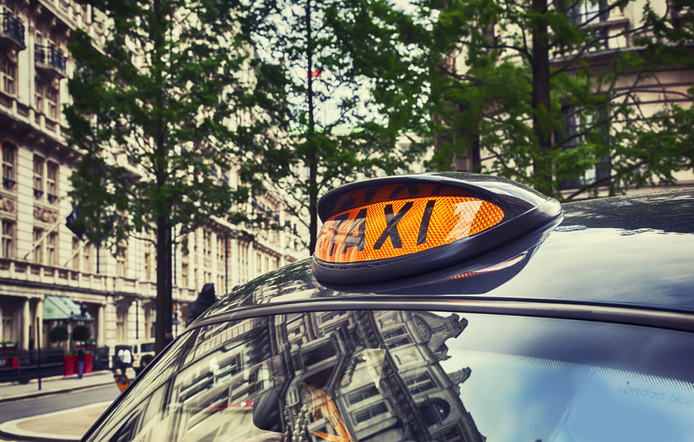 tipping in london taxis