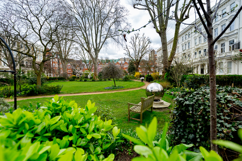 London's Earls Court Square Garden