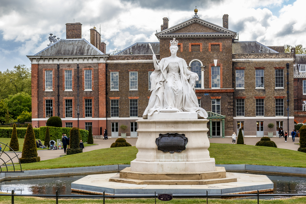 Winter At Kensington Palace